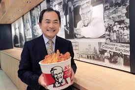 近藤正樹KFC社長の年収やwiki経歴!大学や家族(妻・子供)は?【カンブリア宮殿】