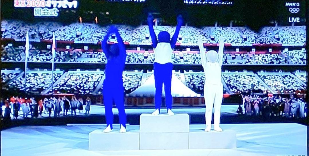 ピストグラムパントマイム中の人特定!オリンピック開会式はがーまるちょばとガベジか!